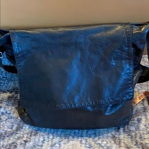 M0851 leather bag crossbody